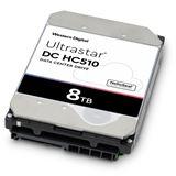 "8000GB WD Ultrastar DC HC510 0F27356 256MB 3.5"" (8.9cm) SAS"