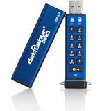 4 GB iStorage datAshur Pro blau USB 3.0