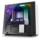 NZXT H200i mit Sichtfenster Mini-ITX ohne Netzteil weiss/schwarz