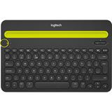 Logitech Bluetooth Multi-Device Keyboard K480 Black - US-Layout