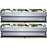 16GB G.Skill SniperX Classic Camouflage DDR4-2400 DIMM CL17 Dual Kit