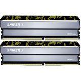 32GB G.Skill SniperX Digital Camouflage DDR4-3200 DIMM CL16 Dual Kit