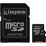 128 GB Kingston Canvas Select microSDXC Class 10 UHS-I Retail inkl.