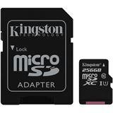 256 GB Kingston Canvas Select microSDXC Class 10 UHS-I Retail inkl.