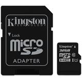 32GB Kingston MicroSD Class UHS-I