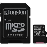 64 GB Kingston Canvas Select microSDXC Class 10 UHS-I Retail inkl.