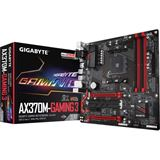 Gigabyte GA-AX370M-Gaming 3 AMD X370 So.AM4 Dual Channel DDR4 mATX