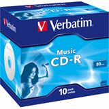 Verbatim CD-R 700 MB 10er Jewelcase (43365)