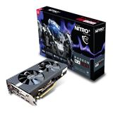 4GB AMD Sapphire RX580 Nitro+ (Samsung Memory) H/2xDP/DVI