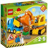 Lego Duplo-Bagger & Lastwagen
