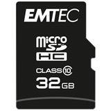 32 GB EMTEC Classic microSDHC Class 10 Retail inkl. Adapter auf SD