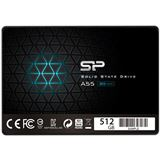 "512GB Silicon Power Ace A55 2.5"" (6.4cm) SATA 6Gb/s 3D-NAND TLC"