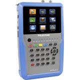 TELESTAR DIGITAL Antennenmessgerät Farbe Sat:a/d Terr:a/d 5,