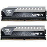 16GB Patriot Viper Elite grau DDR4-2666 DIMM CL15 Dual Kit