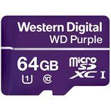64 GB WD Purple microSDXC Class 10 UHS-I Bulk