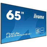 """64,5"""" (163,90cm) iiyama ProLite LE6540UHS-B1 schwarz 3840x2160"""