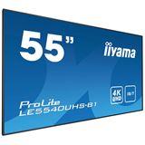 """54.6"""" (138,68cm) iiyama ProLite LE5540UHS-B1 schwarz 3840x2160"""