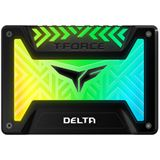 "1000GB TeamGroup T-Force Delta RGB 2.5"" (6.4cm) SATA 3D-NAND TLC"