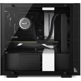 NZXT H200 Mini-ITX mit Sichtfenster Gehäuse, weiß/schwarz