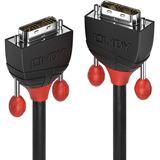 (€12,95*/1m) 1.00m Lindy DVI-D Anschlusskabel Single Link DVI