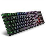 Sharkoon Tastatur PureWriter RGB USB, DE Layout rot