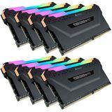64GB Corsair Vengeance RGB PRO schwarz DDR4-2933 DIMM CL16 Octa Kit