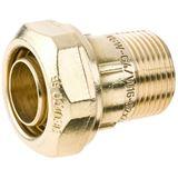 Beulco PE-Übergangsstück 6601 MS, 3/4 AG, 25x2,3mm,