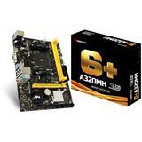 Biostar A320MH AMD A320 So.AM4 Dual Channel DDR4 mATX Retail