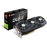 11GB MSI GeForce GTX 1080 Ti Duke OC Aktiv PCIe 3.0 x16 (Retail)