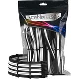 CableMod PRO ModMesh Cable Extension Kit - schwarz/weiß