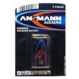 Ansmann Alkaline 9V-Block (E) 500mAh 1er
