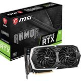 8GB MSI GeForce RTX 2070 Armor OC Aktiv PCIe 3.0 x16 (Retail)