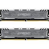 32GB Crucial Ballistix Sport LT Dual Rank grau DDR4-3000 DIMM CL16