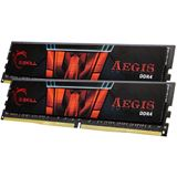 32GB G.Skill Aegis DDR4-2666 DIMM CL19 Dual Kit