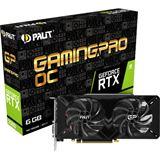 6GB Palit GeForce RTX 2060 GamingPro OC Aktiv PCIe 3.0 x16 (Retail)