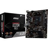 MSI PRO-E AMD A320 So.AM4 Dual Channel DDR4 mATX Retail
