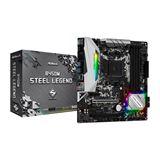 ASRock B450M Steel Legend AMD B450 So.AM4 Dual Channel DDR4 mATX
