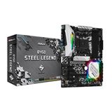ASRock B450 Steel Legend AMD B450 So.AM4 Dual Channel DDR4 ATX Retail