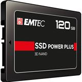 "120GB EMTEC X150 SSD Power Plus 2.5"" (6.4cm) SATA 6Gb/s 3D-NAND"
