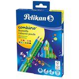 Pelikan Dreikant-Buntstifte combino 12er Kartonetui