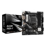 ASRock B450M Pro4-F AMD B450 So.AM4 Dual Channel DDR4 mATX Retail