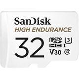 32GB SanDisk MicroSDHC High Endurance