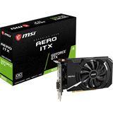 4GB MSI GeForce GTX 1650 AERO ITX 4G OC Aktiv PCIe 3.0 x16 (Retail)