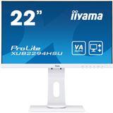 "21,5"" (54,61cm) iiyama ProLite XUB2294HSU-W1 Weiß"