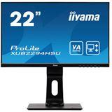 """21,5"""" (54,61cm) iiyama ProLite XUB2294HSU-W1 schwarz 1920x1080"""