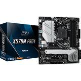 ASRock X570M Pro4 AMD X570 So.AM4 Dual Channel DDR4 mATX Retail
