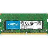 4GB (1x 4096MB) Crucial Mircron DDR4-2666 SO-DIMM CL19 Single