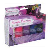 "Folia Acrylic Pouring-Farbe ""INTENSIV"", farbig sortiert"