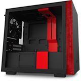 NZXT H210 Mini-ITX Glasfenster CA-H210B-BR rot
