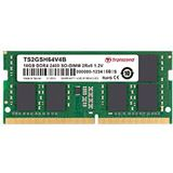 8GB Transcend DDR4 2400Mhz SODIMM 2Rx8 1.2V CL17